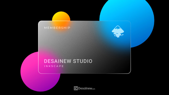 How to Create Business Card with Glass Effect in Inkscape