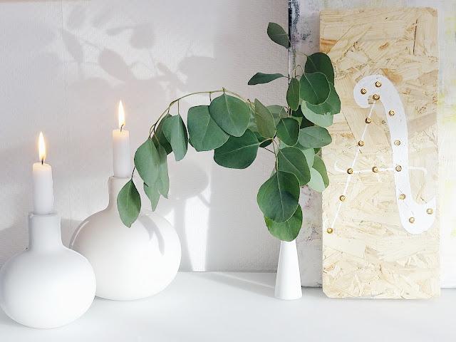 DIY-Lampe aus einem OSB-Holzbrett, mit LED-Leuchten und Handlettering | Lieblinge und Inspirationen der Woche | www.mammilade.blogspot.de