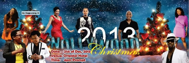 nollywood christmas party lagos