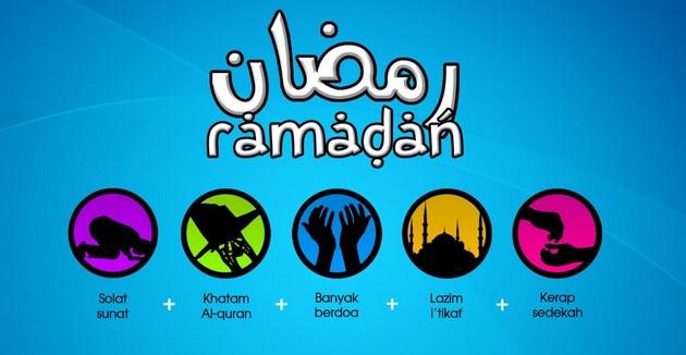 gambar dan foto Materi Ceramah Agama dan Kultum Ramadhan : Rugilah Orang Yang Berpuasa Dan Mereka Yang Sholat