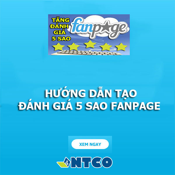 tang danh gia 5 sao fanpage
