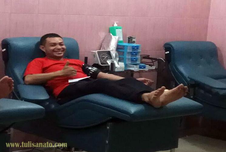 Pengalaman Pertama Donor Darah, Ternyata Tidak Menakutkan