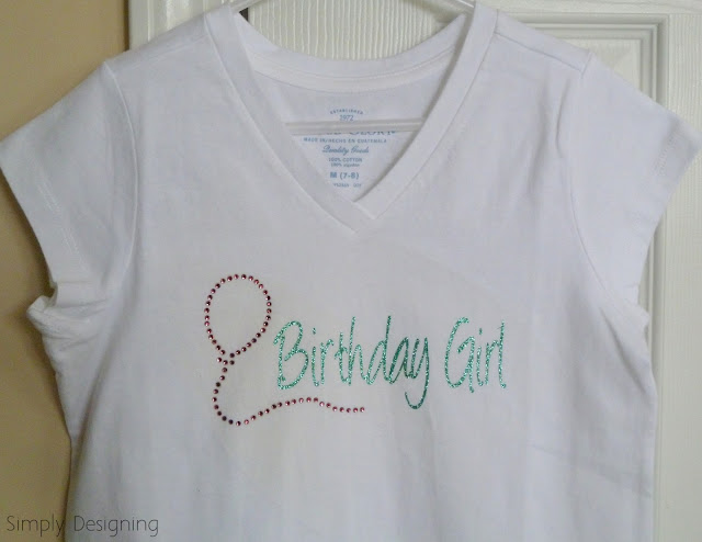 Birthday Girl Shirt 01a Silhouette GIVEAWAY + Promotion 14