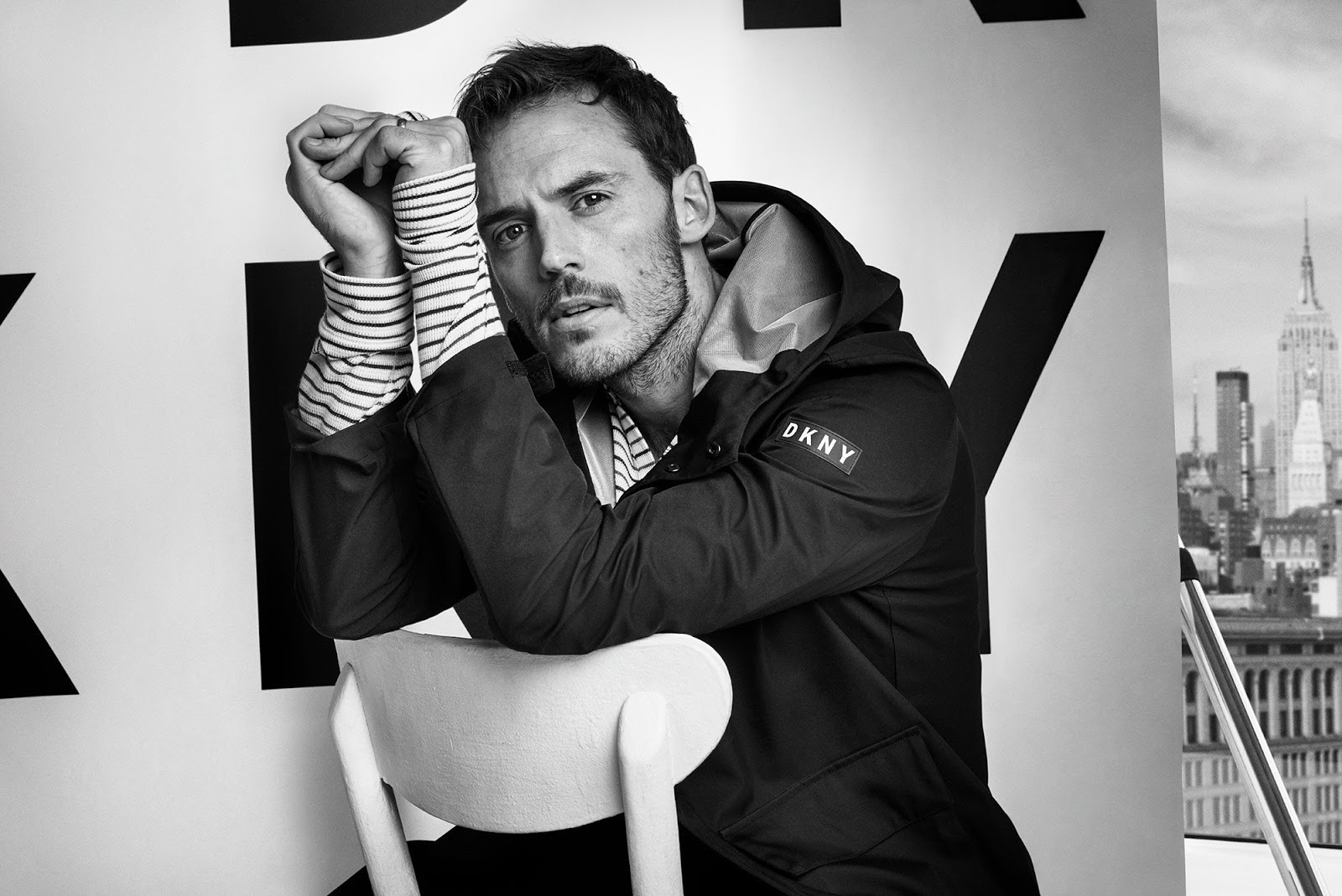 DKNY SS 2018 Men's Campaign ft. Sam Claflin
