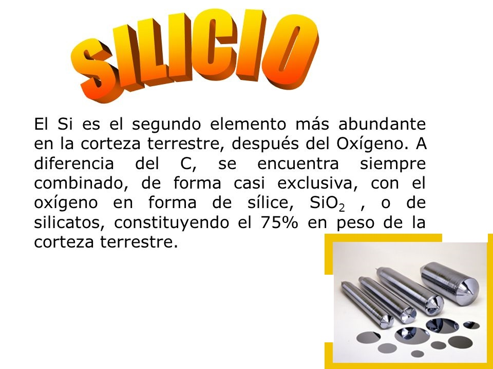 Elemento Mineral Silicio Es muy abundante en la corteza terrestre Colima San Luis Potosi Michoacan Tiendas naturistas