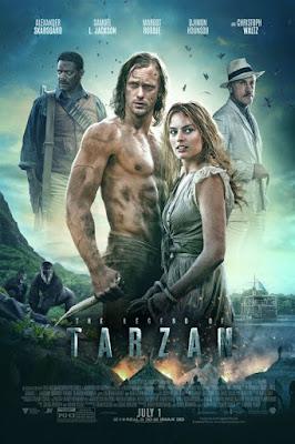 The Legend of Tarzan 2016 Dual Audio Hindi 720p BluRay 850MB