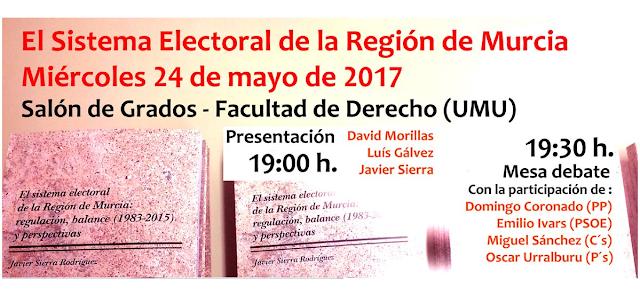 Jornada sobre el Sistema Electoral de la Región de Murcia.