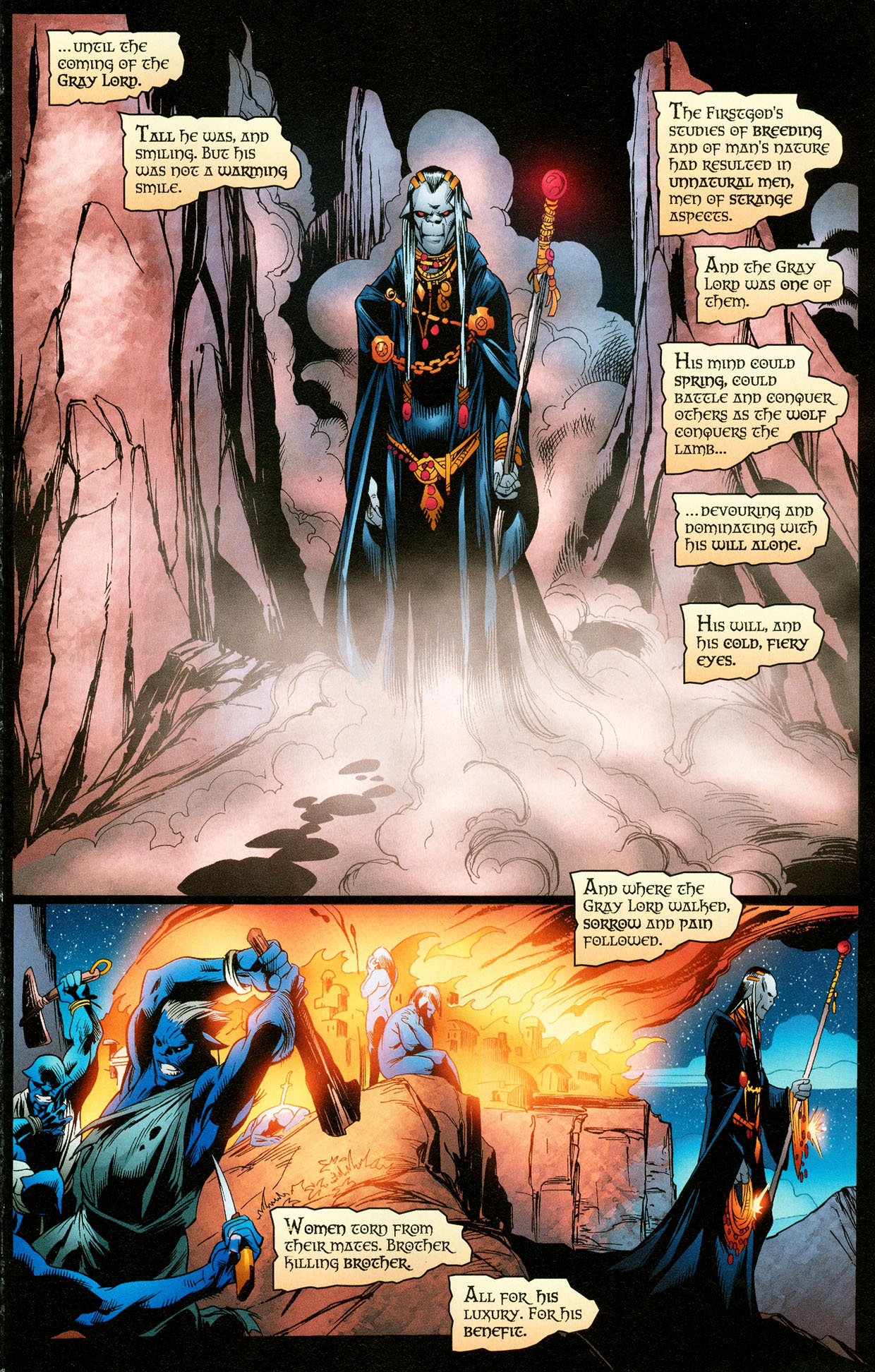 Read online Trinity (2008) comic -  Issue #32 - 16