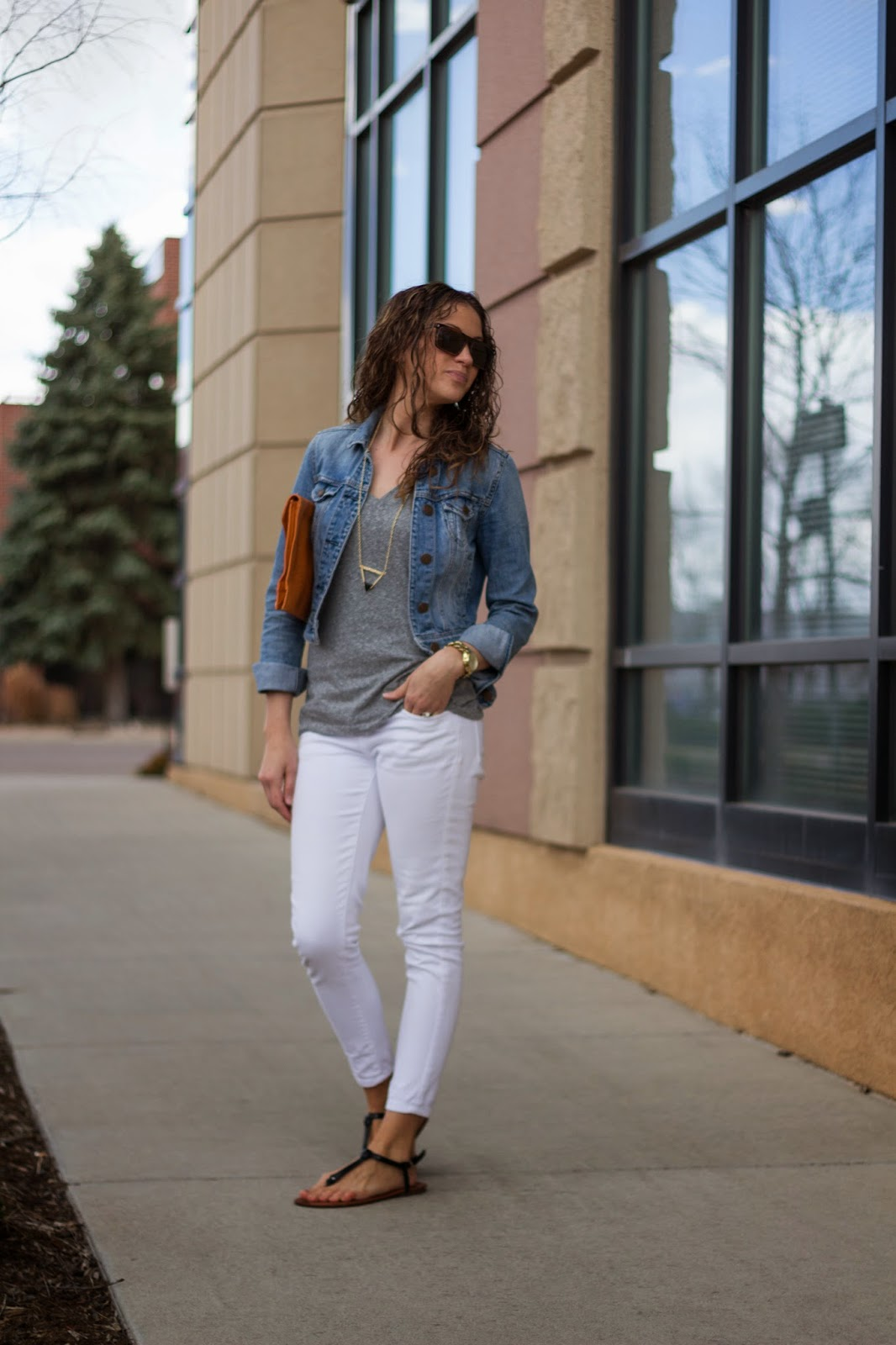 Transitional Basic Outfits by Colorado fashion blogger Eat Pray Wear Love