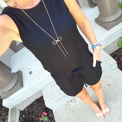 Long Gold Bow Necklace $15 (reg $25)