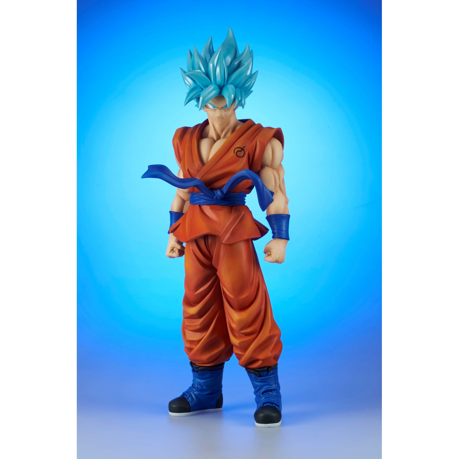 Goku Gigantic Figures: Super Saiyan God To Go On Sale March 2017
