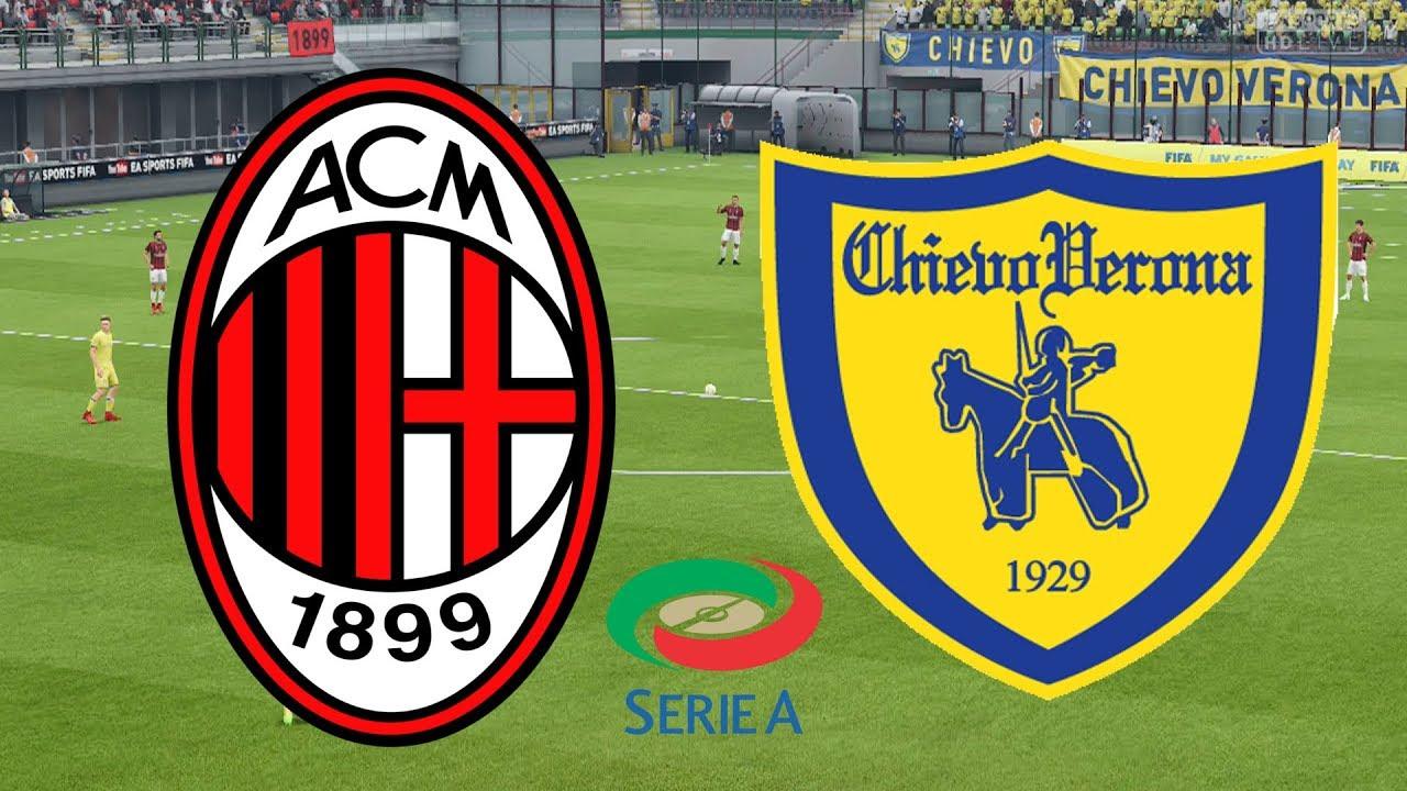 مباراة ميلان وكييفو فيرونا بث مباشر اليوم 7-10-2018 في الدوري الايطالي يلا شوت لايف   أوفسايد 360