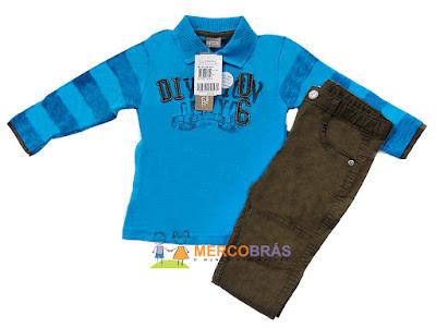 lotes de roupa infantil inverno pra revender