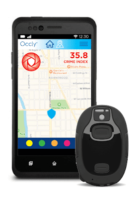 Blinc wearable personal safety system