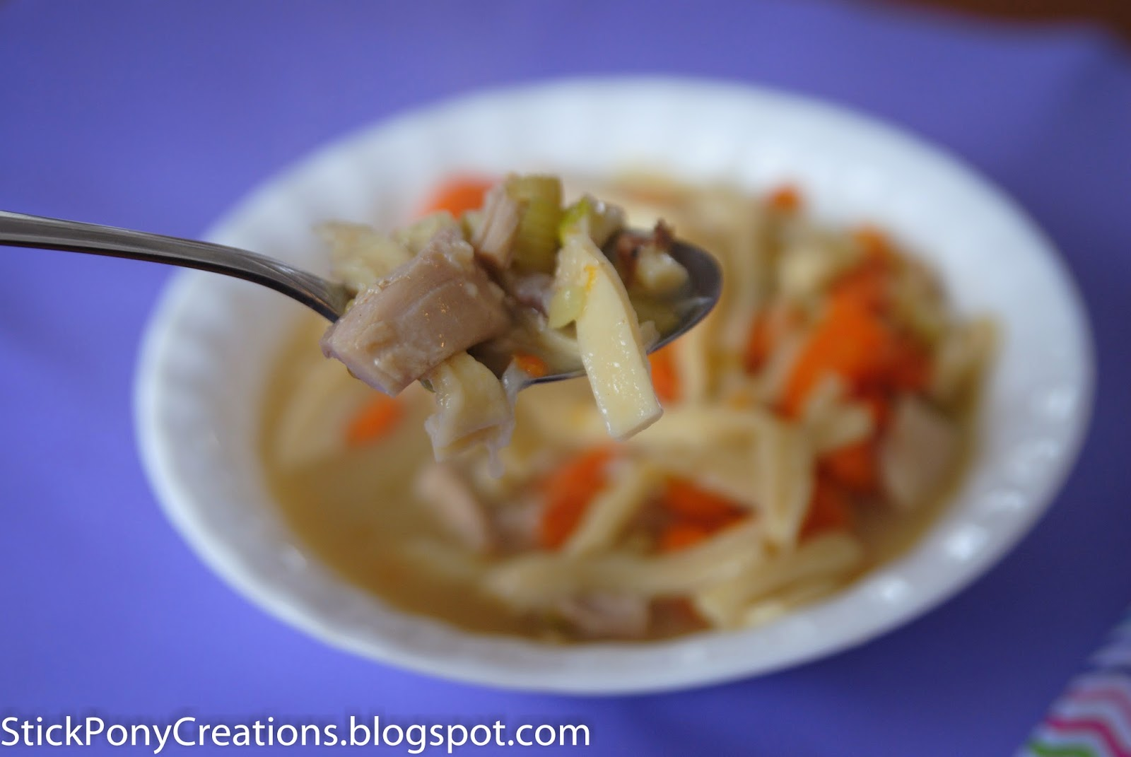 how to cook chicken noodle soup from scratch