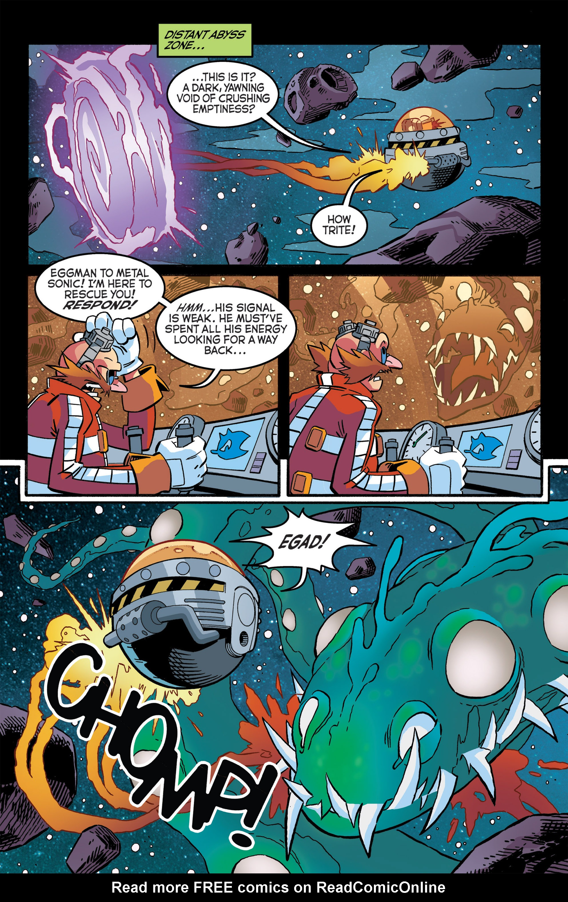 Read online Sonic The Hedgehog comic -  Issue #276 - 18