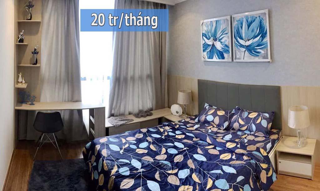 Căn hộ 52m2 Hado Centrosa full nội thất view đẹp