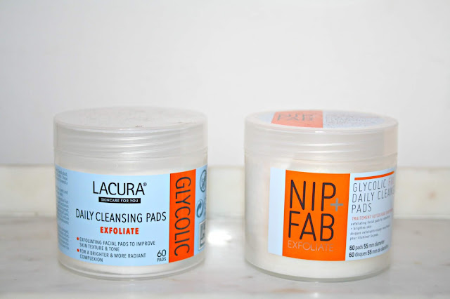 Aldi Lacura Glycolic Cleansing Pads - Are they a Nip + Fab Dupe?