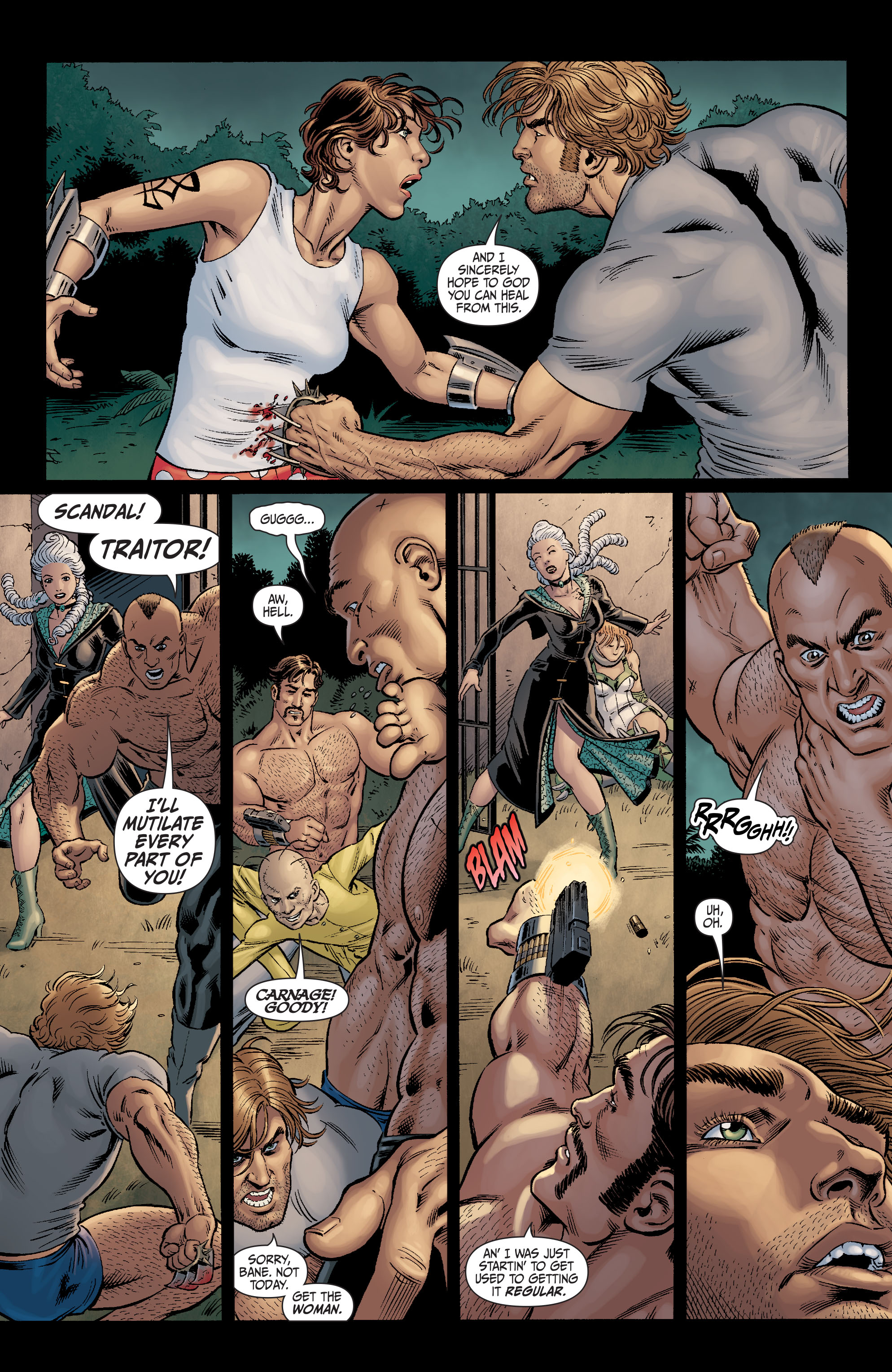 Read online Secret Six (2008) comic -  Issue #11 - 21