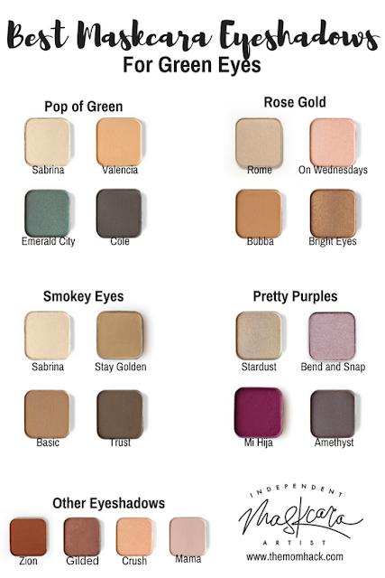 The Mom Hack Best Eyeshadow For Green Eyes