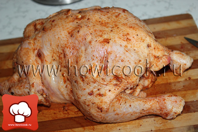 рецепт курицы-гриль в домашних условиях пошаговые фото