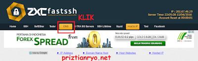 Cara Pointing Domain SSH di FastSSH Terbaru