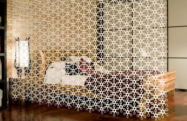 Separadores de espacios y ambientes divisin de sala y comedor  Diseo y decoracin de interiores departamentos pequeos y casas Mxico CDMX