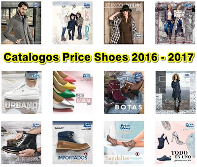 catalogos price shoes 2016-17