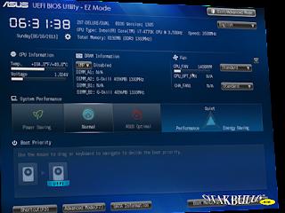 Cara Masuk BIOS Laptop Asus untuk Mengatur Booting CD atau USB
