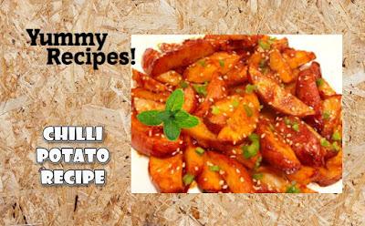 Chilli Potato Recipe - How To Make  Chilli Potato