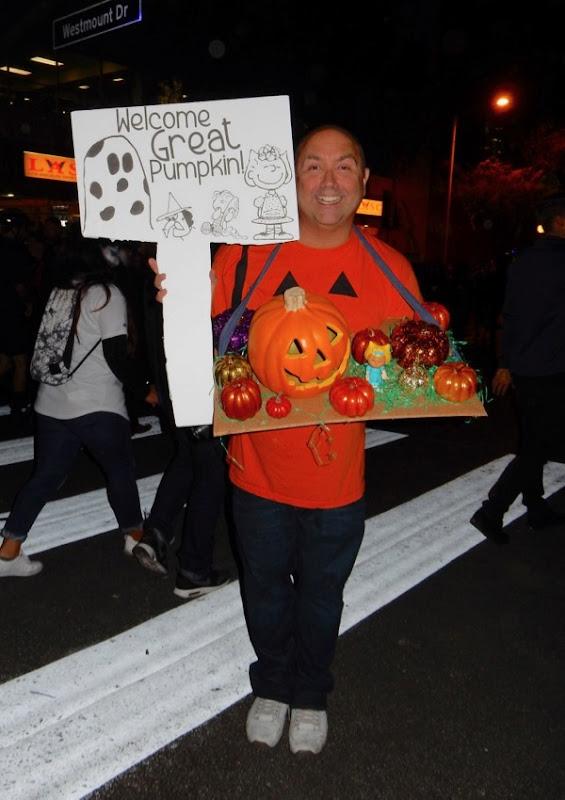 Halloween Charlie Brown Great Pumpkin costume