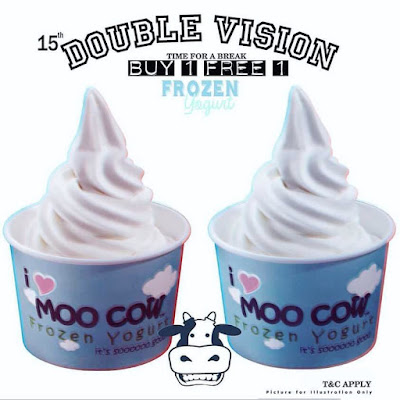 Moo Cow Frozen Yogurt Buy 1 Free 1 Froyo