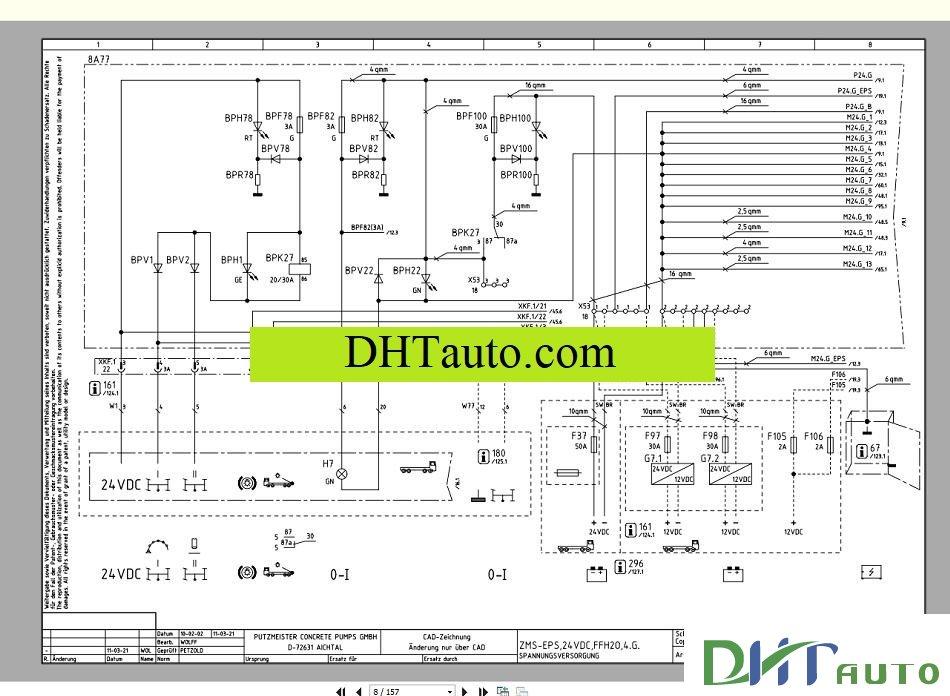 putzmeister service training [05 2016] automotive library electrical diagram putzmeister wiring diagram #11