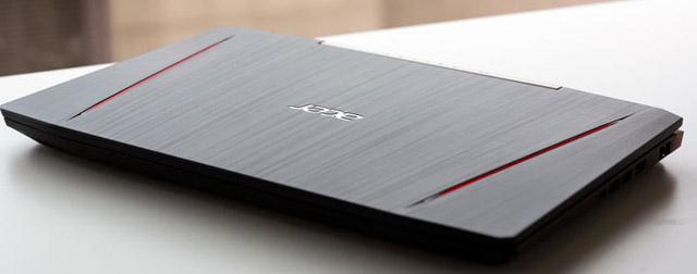 notebook gamer acer vx5 design e construção