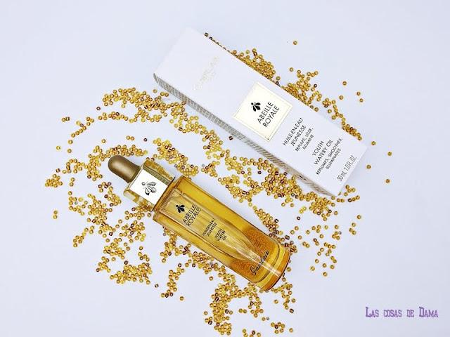 Guerlain Aceite Acuoso Juventud Abeille Royale miel beauty belleza alta gama cosmetica serum