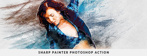 Painting 2 Photoshop Action Bundle - 120