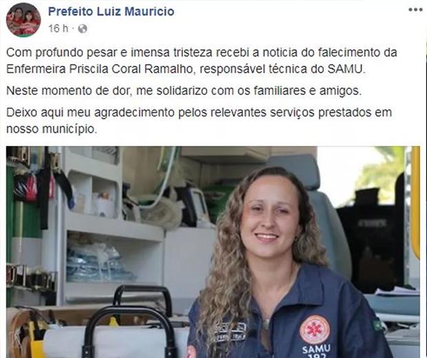Enfermeira assassinada filho