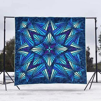Crystal Blue Quilt Free Pattern