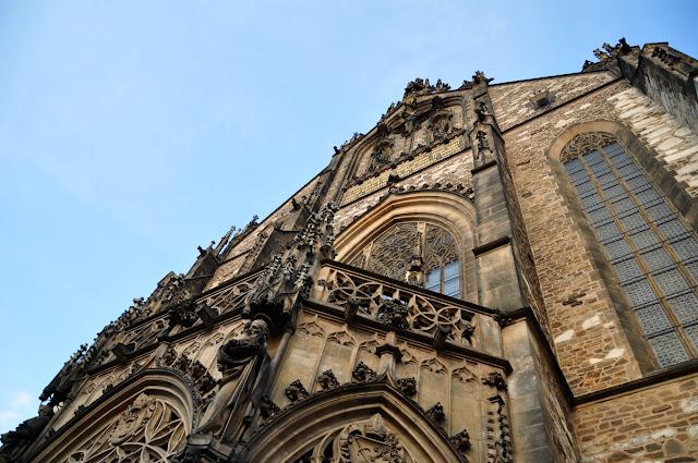 Gotycka katedra w Brnie