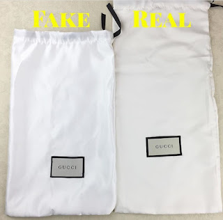 A Fake Gucci Dust Bag Is Never Done Correctly They Re Always Either Wrong Colour Material Size Or The Label Sching Off