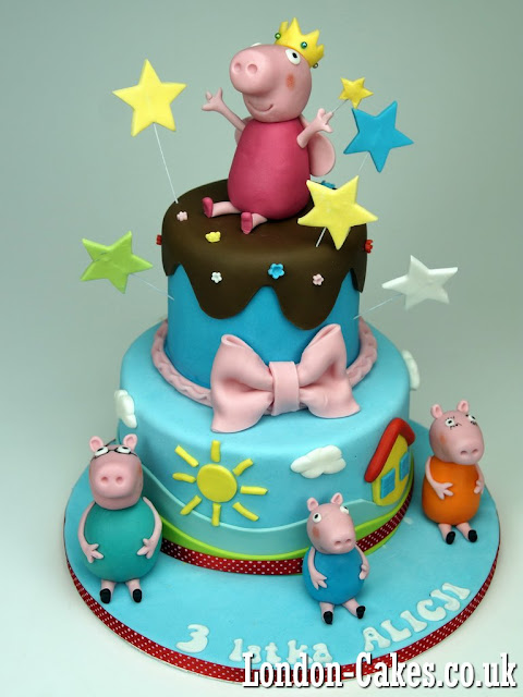 Birthday Cakes Peppa Pig London