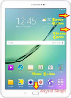 Download Mode GALAXY TAB S2 9.7 3G/LTESM- T815