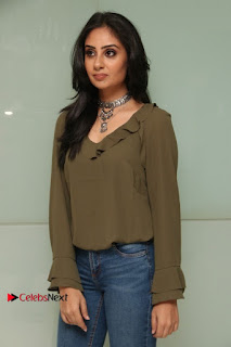 Actress Bhanu Sri Mehra Latest Pos in Jeans at Simba Audio Launch  0008.jpg
