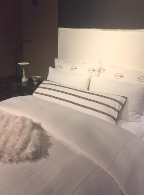 DreamHome Chicago 2016 Michael Del Piero bedroom linens