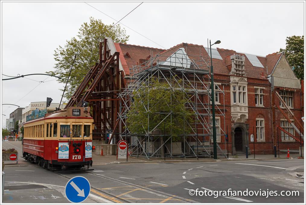 Recorrido por Christchurch. avenida worcester
