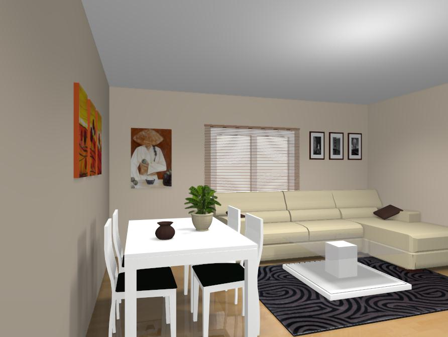 Diseo Salon Comedor Rectangular Interesting Eclctico Saln By The