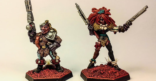 Rogue Trader Warband - Space Amazon & Space Pirate