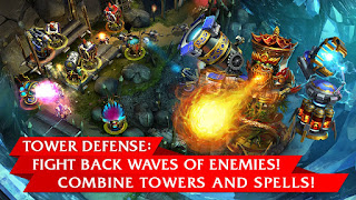 Defenders TD Origins v1.8.60683 MOD APK Terbaru Data Unlimited Money