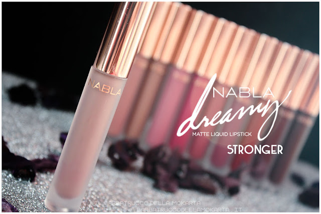 stronger Dreamy Matte Liquid Lipstick rossetto liquido nabla cosmetics