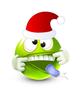 Christmas Smiley Icon 14